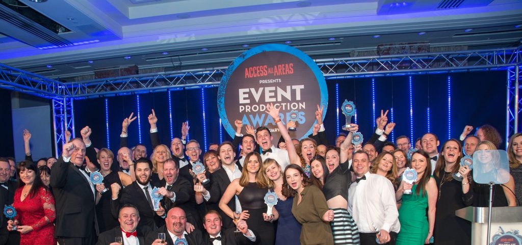 Event Genius & Ticket Arena shortlisted in two categories at Event Production Awards 2018