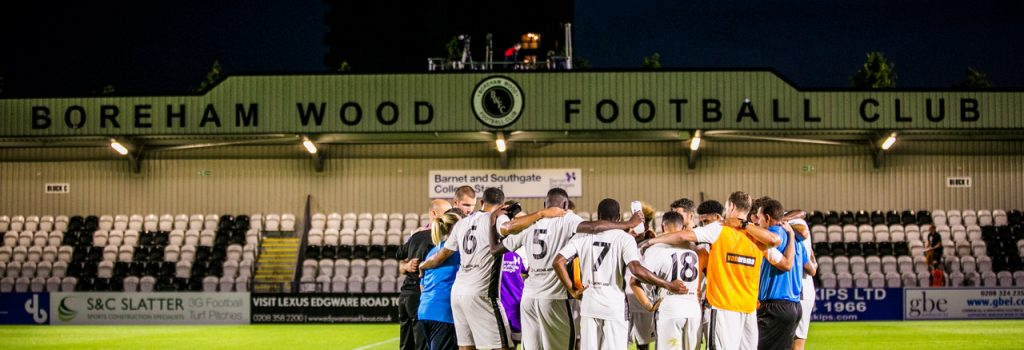 Boreham Wood FC signs with Event Genius