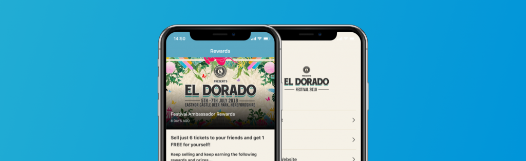 Event Genius launch new white-label rep selling solution with El Dorado Festival