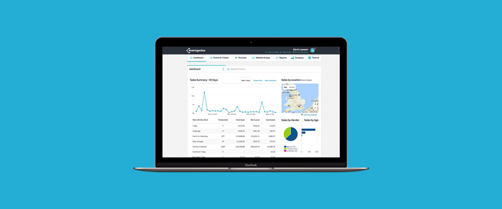 New web performance metrics added to Event Genius' reporting tools