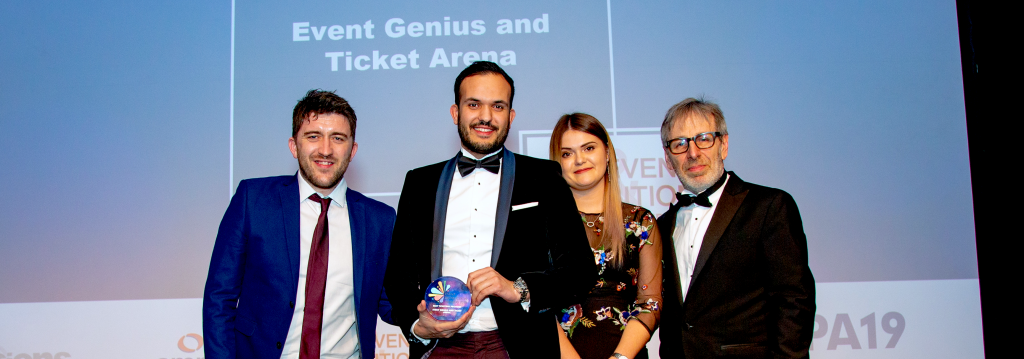 Event Genius & Ticket Arena win Best Ticketing Provider at Event Production Awards 2019